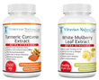 Turmeric Curcumin Extract and White Mulberry Leaf Extract Now On Sale...