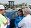 National Safety Council President and CEO Visits Construction Site of...