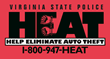 Virginia State Police H.E.A.T. Program Says Motor Vehicle Theft Down...