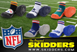 Skidders NFL baby shoe collection