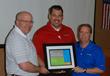 Larry Wells Cast-Fab Technologies receiving his finalist award