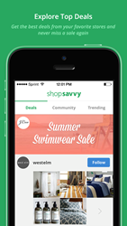 ShopSavvy allows consumers to follow specific items or brands and find out when those products go on sale.