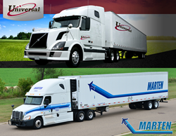 Marten Transport and Universal Truckload Carriers partner with Swiftwick to offer drivers Medical Class II compression socks and achieve healthy solutions for truck drivers.