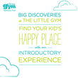 Find your Kid's Happy Place with our Introductory Experience