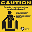 San Francisco SPCA Warns of Escalator-Related Paw Injuries