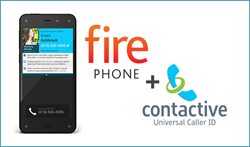 Contactive + Amazon Fire Phone