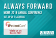 iPatientCare to Exhibit and Showcase the Patient Kiosk, Clinically-driven Revenue Cycle Management and ICD-10 Ready EHR and PMS at Upcoming MGMA 2014 Annual Conference