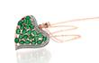Kagem Zambian Emerald Heart Pendant
