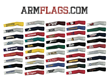 ARMFLAGS currently approved for Licensing with nearly 50 NCAA Div-1 Colleges & Universities.
