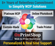 OnPrintShop to Exhibit at GRAPH EXPO 2014