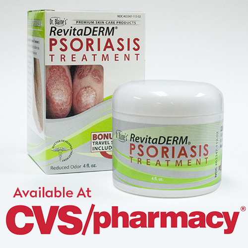 RevitaDERM® Psoriasis Treatment Now Available At Over 7,600 CVS