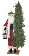 2014 Ditz Designs Father Christmas Santas with Pre-lit tree