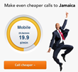 Get up, stand up... and call Jamaica at lower rates with...