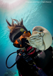 Scuba diver and underwater photographer Janice Carter