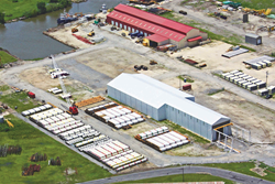 One of Chet Morrison Contractors' Houma Yards
