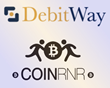 DebitWay's Certified INTERAC® Online Payment (IOP) Processing Service Added to CoinRNR's Digital Currency Brokerage