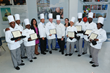 The Cuinary School at Eva's Village graduates and staff