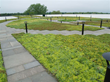 Other area LiveRoof brand green roofs include this parking garage at the Burlington International Airport.