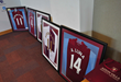 Villa memorabilia From key club Players