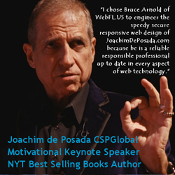 Latino Motivational Speaker Joachim de Posada CSPGlobal