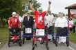 Bob Hardy adapts marathons to accommodate people who walk with rollators