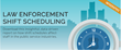 EmLogis' Offers Employee Scheduling Infographic about Law Enforcement Shift Scheduling