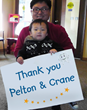 Thank you Pelton and Crane