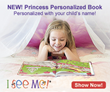 "Personalized storybook, ""Princess: A Day in the Life of a Princess"" shares the message that what's inside counts the most."