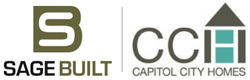 Capitol City Homes & Sage Built Logos