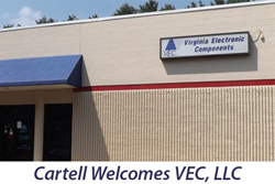 Cartell welcomes VEC
