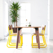 Sudbury Table and Church Series Chairs by Gus* Modern