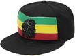 CF1565 BLACK LION RASTA SNAPBACK CAP