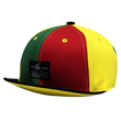 CX140 RAINBOW 6 PANEL HARD SHORT VISOR HAT