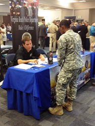 Schedule of Military Job Fairs