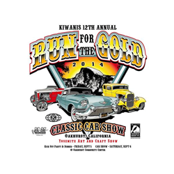 Run for the Gold Car Show