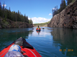 Imre and Andras Kayaking the Yukon