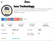 Isos Technology Recognized on Inc. Magazine 2014 Inc. 5000 Annual Exclusive List of America's Fastest-Growing Private Companies