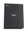 Housed in a compact. .6 liter chassis that stands upright and is VESA mountable, the Acer Chromebox CXI saves space.