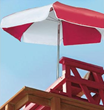 ULTRA WEATHER DURABLE LIFEGUARD UMBRELLA