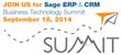 Northeast Ohio Technology Provider Announces Sage ERP & CRM...