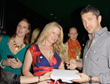 Gerard Butler and Amy Boatwright at Secret Room Events Red Carpet Style Lounge