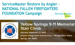 ServiceMaster Restore by Angler - Sponsor of the 9/11 Memorial Stair Climb