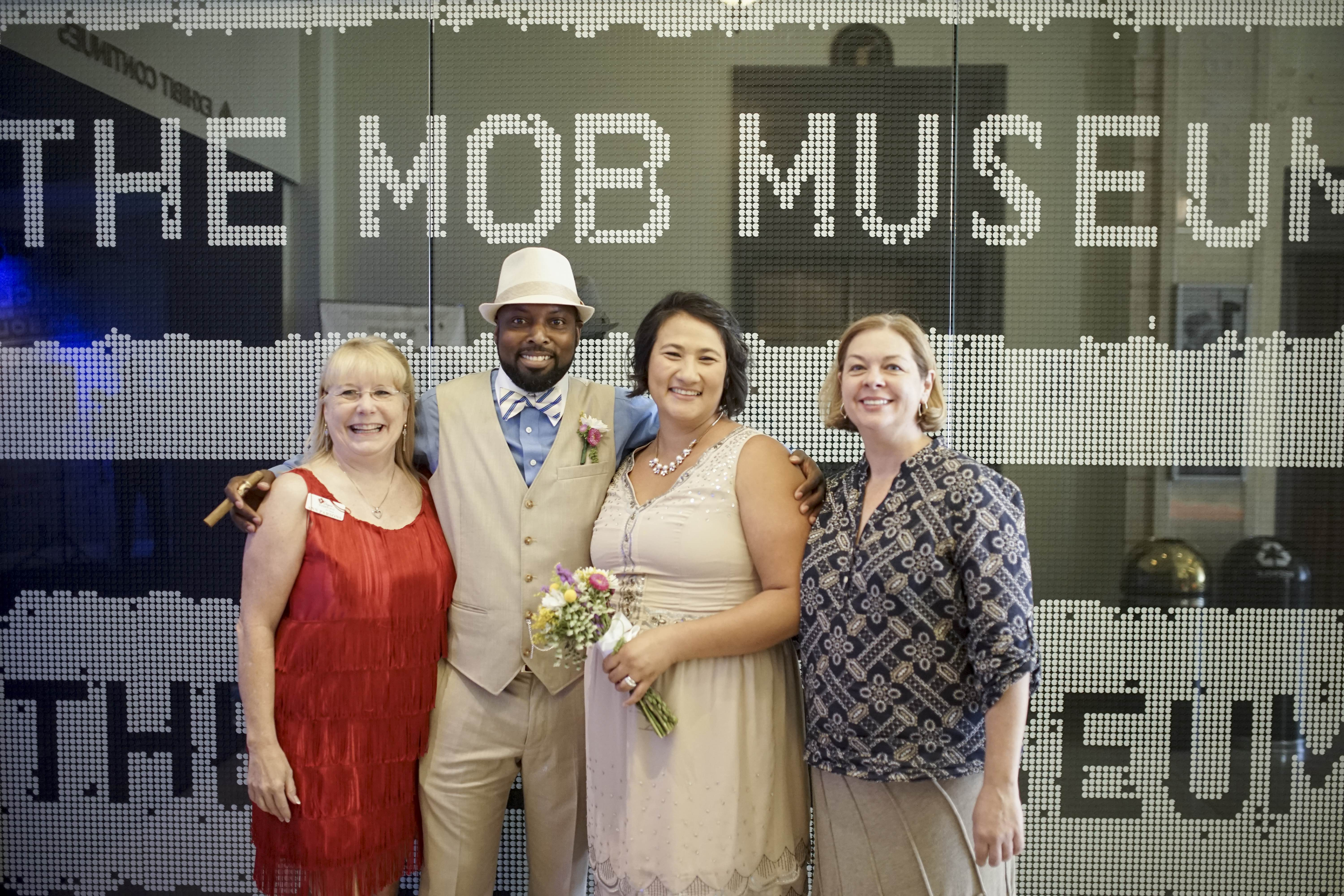 Las vegas mob wedding
