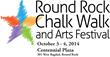 CHALK WALK 2014 in Round Rock, Texas