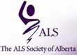 ALS Society of Alberta Logo
