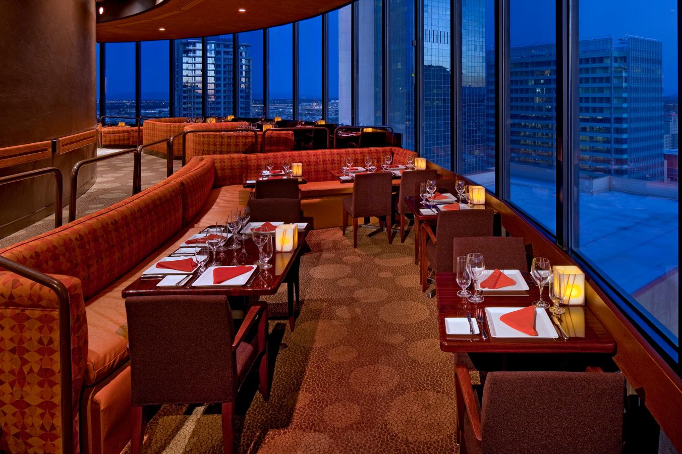 Compass Arizona Grill At Hyatt Regency Phoenix Hotel Is