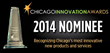 Aurico Nominated for 2014 Chicago Innovation Awards