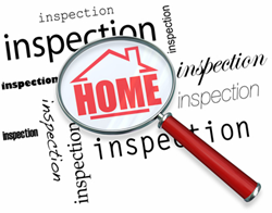 Buyers insist on a thorough home inspection prior to close of escrow.