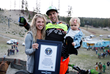 Monster Energy's Cam Zink Guinness World Record Family