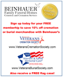 Beinhauer Family Funeral Homes Is Celebrating Veteran's Day with the Nation's Leading Funeral Home Network